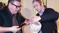 Andrew Gilbert joins Tim Hartley at Icons Show in Mondial Coiffure- Paris 2010 (MyHairDressers.com) Tags: inspiration haircut paris fashion hair glamour international hairdresser session haircuts hairstyle hairdressers newwave haircolour hairdressing hairshow influence hairstylist haircutting vidalsassoon toniguy haircollection bauhausmovement andrewgilbert november2010 timhartley myhairdressers myhairdresserscom robertlobetta iconsshow madmentvshow hairevent hairdressingtraining learnhairdressing hairdemonstration onlinehairdressingtraining sassoons wwwmyhairdresserscom anthonymoscolo internationalcreativedirector longerlevels mondialcoiffurebeaute shortercrown