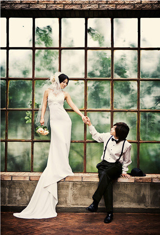 Kim Hyun Joong & Hwang Bo (JoongBo) Wedding Photos 4