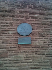 Photo of John Charles Gittins brass plaque