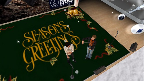 season's greetings from second life
