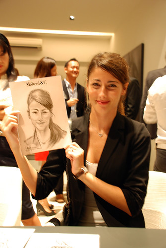 Portrait & Caricature live sketching for Molteni & C - 9