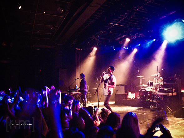The Temper Trap in Vancouver