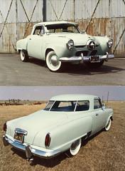 1951 Studebaker Champion Starlight Coupe (Romany WG) Tags: auto california nose bullet studebaker propeller coupe 1951 spotlights starlight