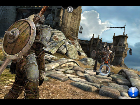 Infinity Blade (iPad, iPhone, iPod touch) from Epic Games