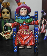 Atocha Child Mexico (Teyacapan) Tags: wood mexico madera folkart child artesanias jesus santos oaxaca nino carvings atocho
