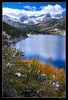 Above the Fray at South Lake (jeandayphotography.com) Tags: california ca november trees lake snow mountains fall water colors leaves clouds forest reflections trail aspen sierranevada bishop 2010 southlake mhw jday easternsierranevada bishopcreekcanyon jeanday aspendell mountainhighworkshops
