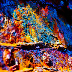 DSC_9255.jpg (Virginie Rooses) Tags: blue red urban abstract france detail macro art texture textura metal nikon rust arte decay surface oxidation urbanism fragment rouille oxydation abstrait matire flickraward belleilerouille