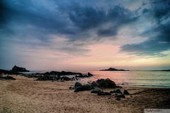I dream of Gokarna (recaptured) Tags: sunset sea beach water clouds landscape interestingness sand rocks tokina explore gokarna dynamicrange hdr ombeach arabiansea magicdonkey 1116mm