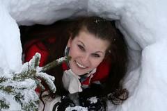 Zimní bivak: Noc pod sněhovou peřinou aneb jak nezmrznout až na kost