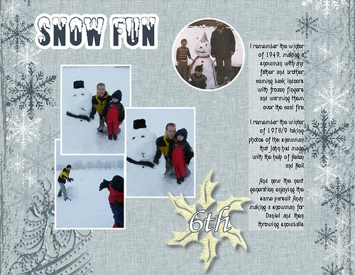 6th Snow Fun