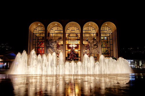 The holidays at Lincoln Center