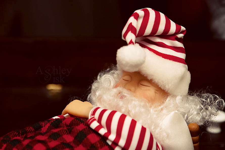 Sleeping Santa RS