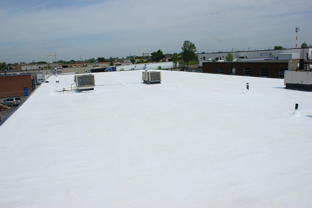 Photo Gallery Coolflex Reflective White Roof Coating