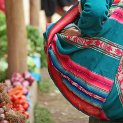 Mother breastfeeding her baby (Z Eduardo...) Tags: people woman baby peru colors market mother son breastfeeding sacredvalley chinchero