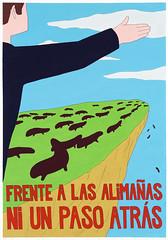 Ignacio García Sánchez - Frente a las alimañas ni un paso atras
