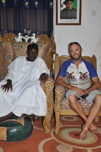 With the Emir of Old Muri