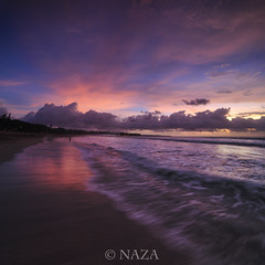 Still Got A Blues Of Kuta (naza.carraro) Tags: nazarudinwijee naza1715 naza baliness indonesian garuda beautiful sand bali beach paradise tourism travel airasia sunset landscape vertorama wave waves foam