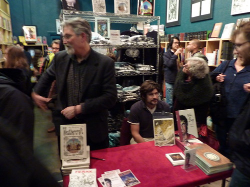 Jim Woodring & Zak Sally, Fantagraphics Bookstore & Gallery, Dec. 11, 2010
