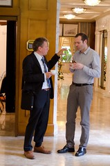 Drs. van Schaik and Ylstra from the Netherlands (GoldenHelix Symposia) Tags: institute research medicine genetic biomedical genomics symposia genome pharmacogenomics goldenhelix translational patrinosgeorge
