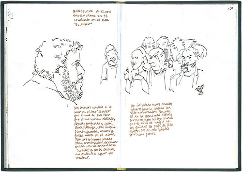 Barcelona, 29 1/2th SketchCrawl #4