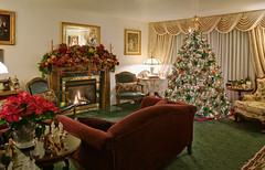 "Home interior Christmas decorations (IronRodArt - Royce Bair (""Star Shooter"")) Tags: christmas decorations holiday home living cozy interior room decor decorate nativity inviting"