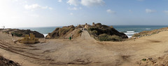 ,  2010 (shlomz) Tags: panorama castle israel archeology crusader stitched  apollonia     arsuf    arhaf     arsour