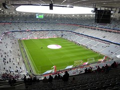 Allianz Arena, Mnchen (poity_uk) Tags: germany munich bavaria football fussball stadium soccer stadion futebol voetbal ground calcio bundesliga allianzarena footballground fcb fcbayern fcbayernmnchen football munich bayern