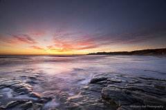 Dark Light (Azzmataz) Tags: sunrise tynemouth longsands anthonyhallphotography