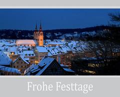 Winterthur (steffi's) Tags: christmas schnee winter snow schweiz switzerland december advent adventszeit nightshot suisse nacht bluehour dezember svizzera altstadt oldtown oldcity weihnacht ch winterthur 8400 blauestunde zh kantonzürich winterliches