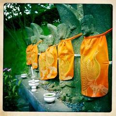 Jizo Group in Stylish Orange