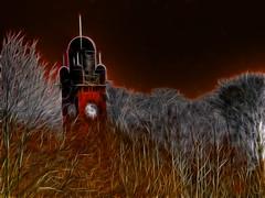 Clocktower (Billy McDonald) Tags: trees scotland glasgow clocktower stobhill fractalius