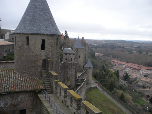 Carcassonne from the ramparts