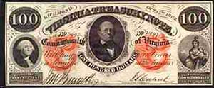 Virginia Treasury Note