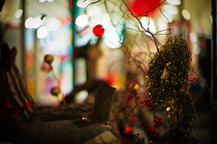 nest for Christmas (moaan) Tags: christmas leica digital 50mm mood dof bokeh illuminations atmosphere f10 celebration wreath decorating utata noctilux festivities christmastime 2010 m9 christmaswreath leicanoctilux50mmf10 leicam9 gettyimagesjapanq1 gettyimagesjapanq2