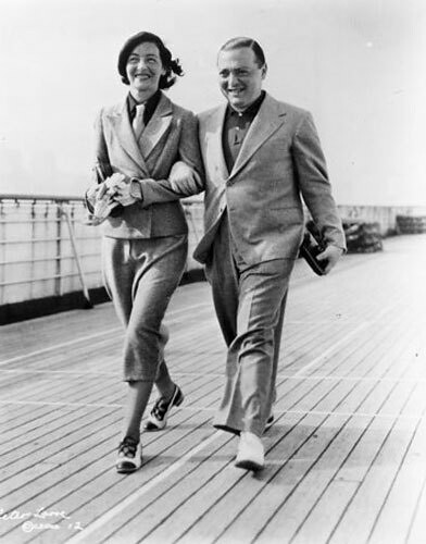 Celia and Peter Lorre