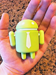 Who wants this Android action figure?