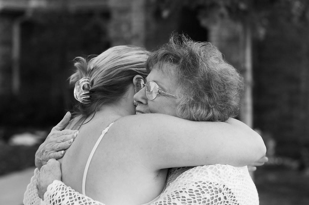 Brook, Mom, hug 2010