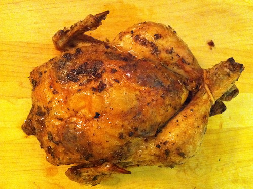 Oven Roasted Chicken with Garlic and Sage