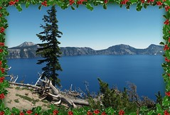 View of Crater Lake NP (pjink11) Tags: blue summer oregon volcano nationalpark olympus crater 2010 dormant e500 craterlakenp zd1445mm