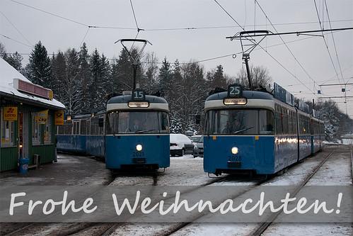 Das Tramgeschichten-Team wünscht frohe Festtage!