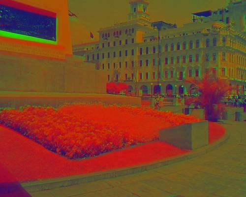 Plaza San Martin, Lima, in NRG