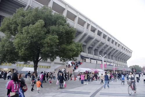 キンチョウスタジアム外観@セレッソ大阪 VS 横浜マリノス