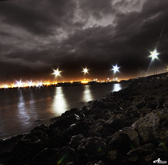 Nara!! (ZiZLoSs) Tags: night clouds canon eos shot sigma 7d kuwait 1020mm aziz freezone sigma1020mm abdulaziz عبدالعزيز zizloss المنيع 3aziz canoneos7d almanie abdulazizalmanie httpzizlosscom