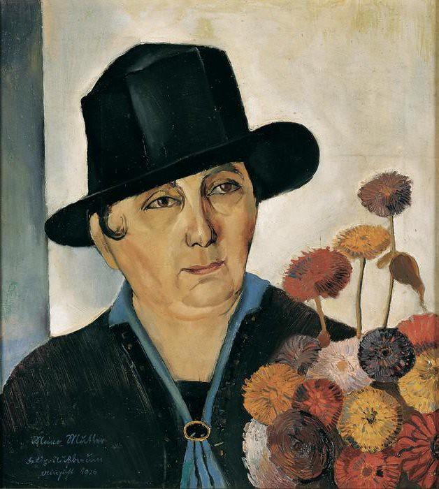Nussbaum, Felix (1904-1944) - 1926 My Mother (Niedersächsische Sparkassenstiftung, Germany)