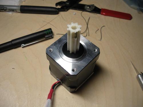 Fixed motor