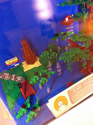 LEGO Store Christmas Display - Houston, Texas (Galleria)