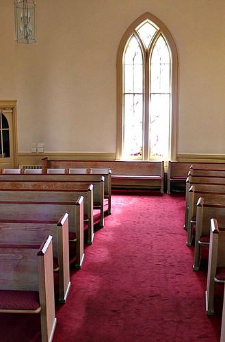 2/365 Presbyterian Church Pews--Filling My Gratitude Bucket