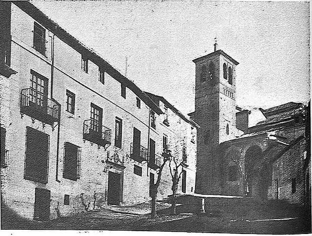 Iglesia de Santa Leocadia. Fotografía publicada en junio de 1928 en la Revista Toledo