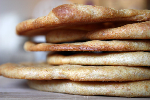 wheat naan.