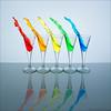 Rainbow splash - Explore [FrontPage] (pascalbovet.com) Tags: glass rainbow experimental splash arduino lesson7 strobist
